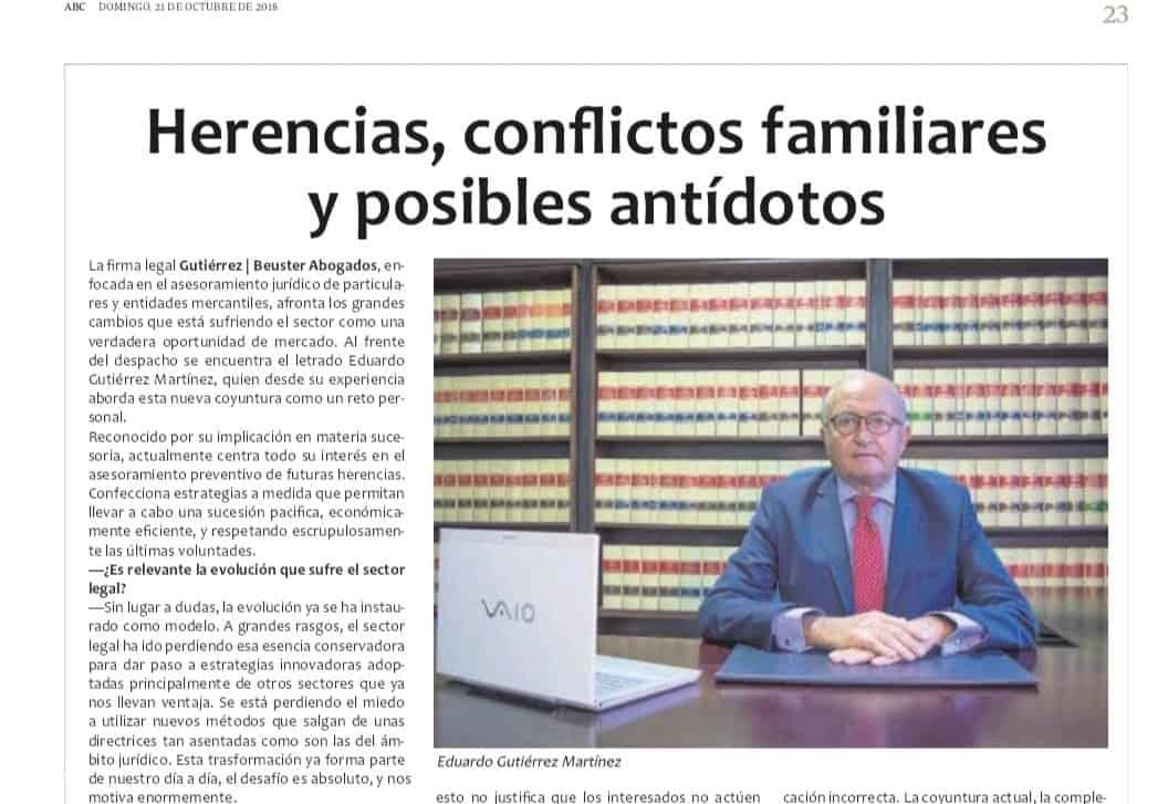 El Diario ABC Pública La Entrevista Realizada Al Socio Director